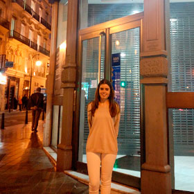 Cristina Velilla's placement at BBVA