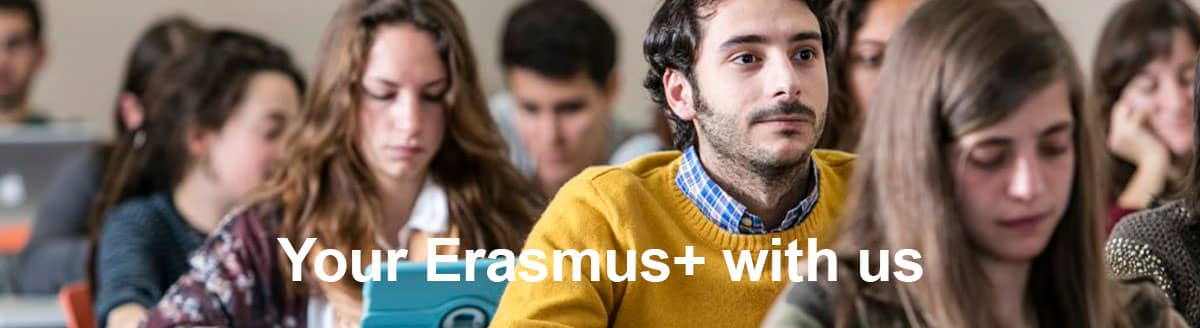 Your Erasmus+ with us