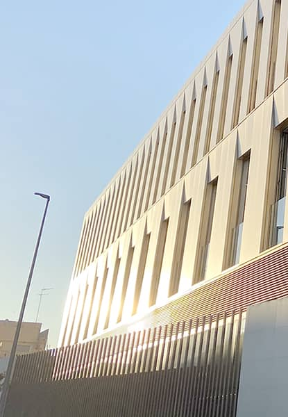 And a brand-new building that changes the layout of our Alfara campus